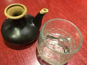 酒器カラカラと焼酎